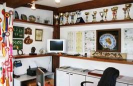 Interno ufficio e sala trofei