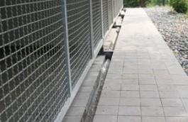 Canale drenaggio acque di lavaggio box